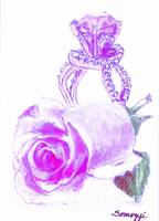 PURPLE ROSEBUD