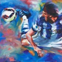 """Rockin Soccer"" by BCArt"