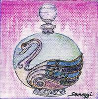 BOTTLED PURPLE SWAN