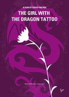 No528 My The Girl with the Dragon Tattoo minimal m