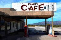 Family Cafe, Mojave Desert