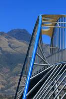 Steel Bridge and Mount Imbabura