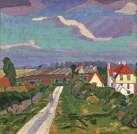 Spencer Gore 'Letchworth, The Road' 1912