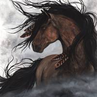 """""""Storm Chaser - Majestic Horse"""" by AmyLynBihrle"""