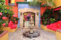 Courtyard Entrance, Playa Del Carmen Mexico