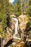 Chasm Falls - Rocky Mountain National Park