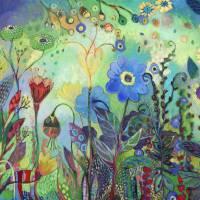 """Botanical Abstract 4"" by CTasman"