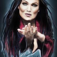 Tarja Turunen Art Prints & Posters by Melanie D