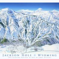 """Jackson Hole - 2015"" by jamesniehuesmaps"