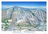 Okemo 2014 Trail Map Image