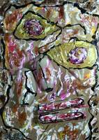 Homage to Dubuffet's Homage to Klee's Senecio (if