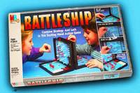 Battleship Board Game Painting