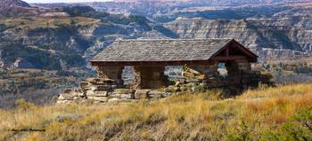 Old Cabin - ND Badlands