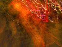 ABSTRACT LIGHT STREAKS #14, of 8 SEPTEMBER 2015
