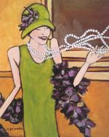roaring twenties - flapper - boa - betsy by tracie brown