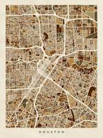 Houston Texas City Street Map