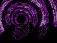 Mountain Purple Vortex