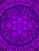 Purple Pearl Mandala