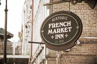New Orleans Hotel Sign in Sepia by Carol Groenen
