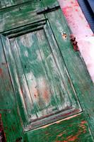 Green Door in New Orleans by Carol Groenen