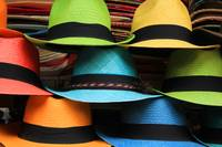 Colorful Handmade Panama Hats