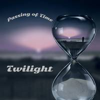 Passing of time Person In Hourglass