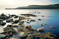 Misty Rocks in Kimmeridge Bay, Dorset