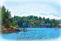 Coming Into Friday Harbor