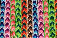 Arrow Pattern Woven Bracelets