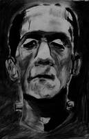 Frankenstein Speed Art.