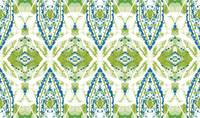 Blue Green Geometric Circles Abstract