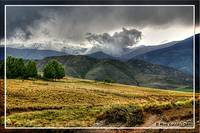 Sunshower in the Andes