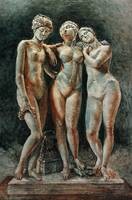 Pradier's Three Graces-Louvre Museum