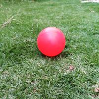 Red Ball on Grass