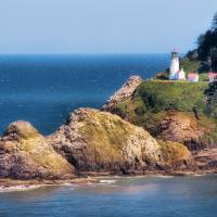 """Heceta Head Lighthouse"" by marissanagel"