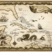 """Islands of the Bahamas and West Indies - Caribbean"" by savanna"