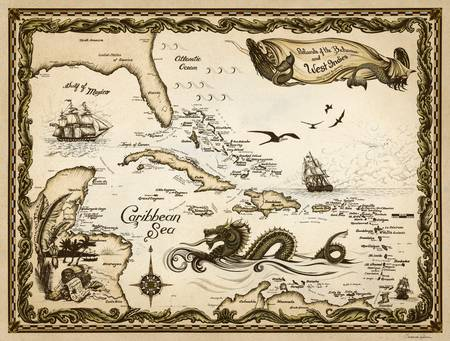 Islands of the Bahamas and West Indies - Caribbean