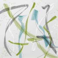 Brushstroke abstract