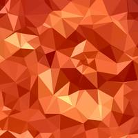 Atomic Tangerine Orange Abstract Low Polygon Backg