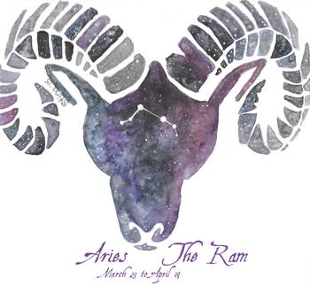 Aries the Ram by Stina Waters