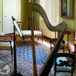 """Harp in Living Room"" by susansartgallery"