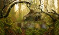 Shack in a Swamp