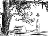 Bodie Island Lighthouse, Cape Hatteras National Se