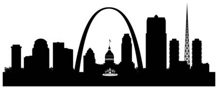 Saint Louis Cityscape Skyline