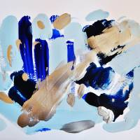 Indigo Ice II by Patti Friday