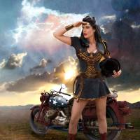 Wonder Woman: Looking Toward Peace by Ran Valerhon
