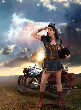 Wonder Woman: Looking Toward Peace