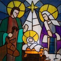 Nativity by George Wood by Karen Adams