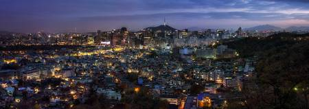 Seoul Panorama Night