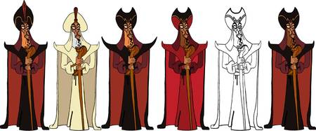 The Stages of Jafar